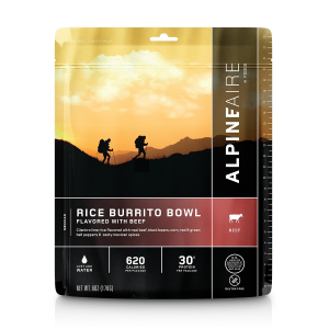 AlpineAire Rice and Beef Burrito Bowl Entree [NEW]
