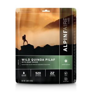 AlpineAire Wild Quinoa Pilaf with Hemp Seeds Entree [NEW]