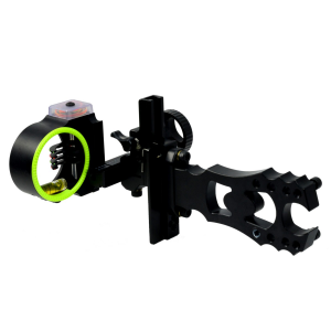 Black Gold Ascent Adjustable Archery Sight - BlackOvis Edition [2015 Model]
