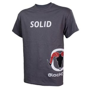 BlackOvis SOLID Short Sleeve T