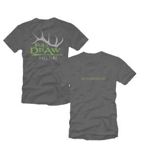 Full Draw Film Tour DIY Bowhunter T-Shirt