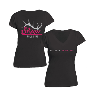 Full Draw Film Tour Women's Bowhuntress T-Shirt