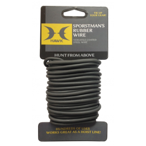 Hawk Sportsman's Rubber Wire