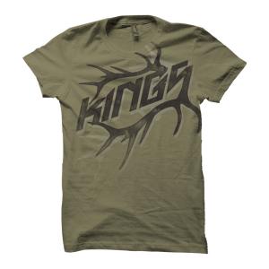 King's Camo Elk Rack T-Shirt