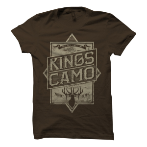 King's Camo Perfect Cover T-Shirt