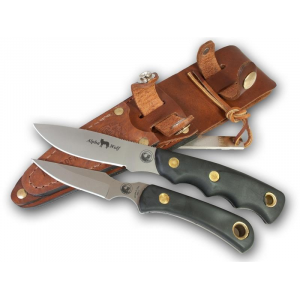 Knives of Alaska Alpha Wolf D2/Cub Bear Combo