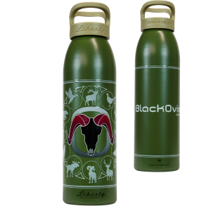 Liberty Bottle Works BlackOvis Logo Water Bottle