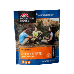 Mountain House Chicken Teriyaki with Rice Entree