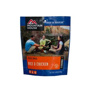 Mountain House Rice & Chicken Entree
