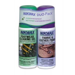 NIKWAX Fabric & Leather DuoPack