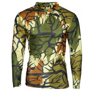 Predator Camo Lightweight Poly Henley Shirt