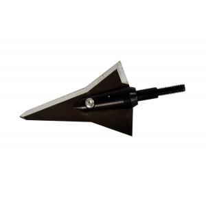 Strickland's Archery Helix Deep-Six Fixed Blade Broadhead- 3 Pack