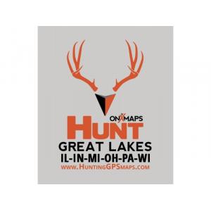 onXmaps HUNT Great Lakes for Garmin