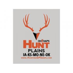 onXmaps HUNT Plains for Garmin